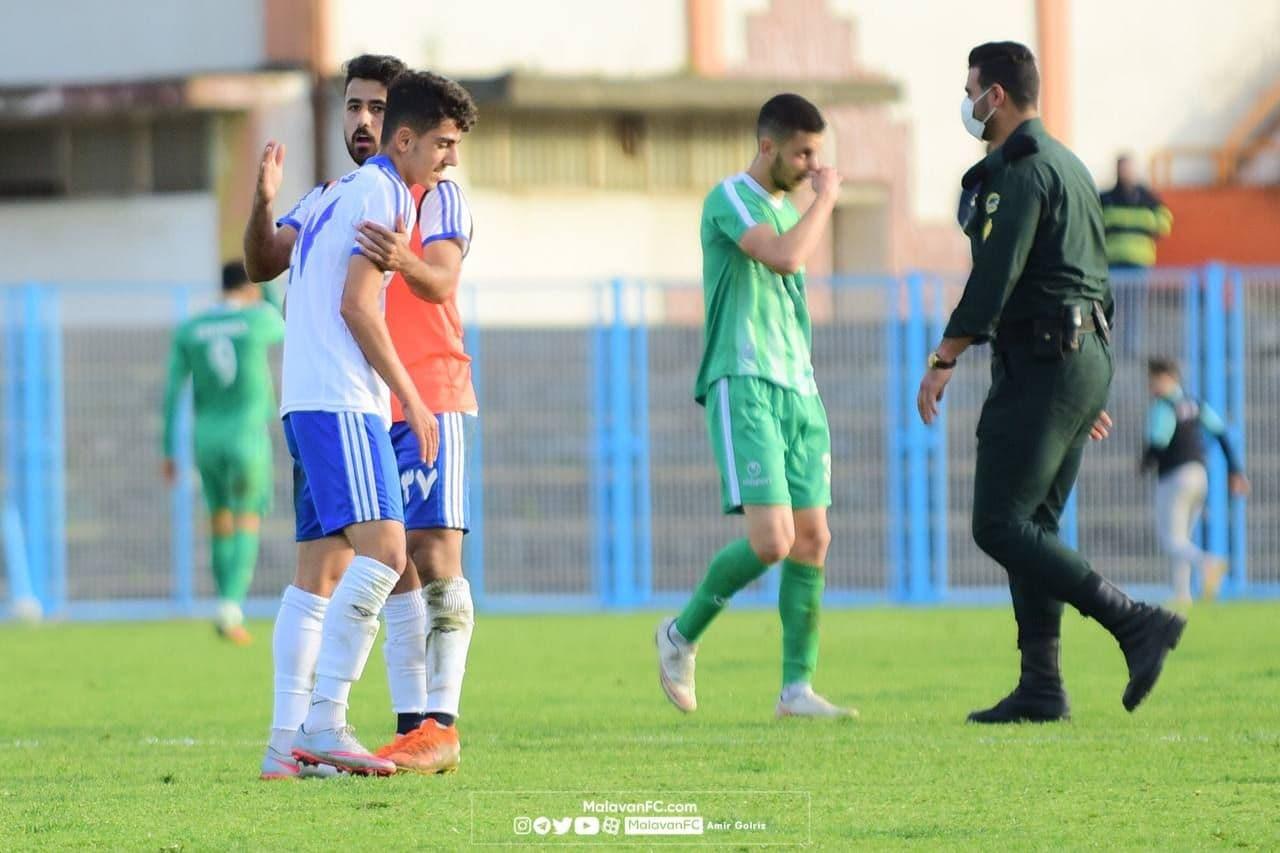 گزارش تصویری دیدار ملوان بندر انزلی و چوکا تالش