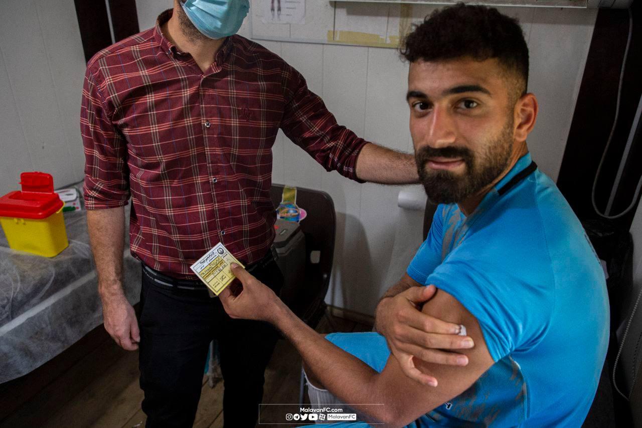 ملوانان واکسینه شدند